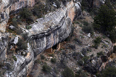 Photograph - Walnut Canyon Cliff Dwellings 2 by Mary Bedy