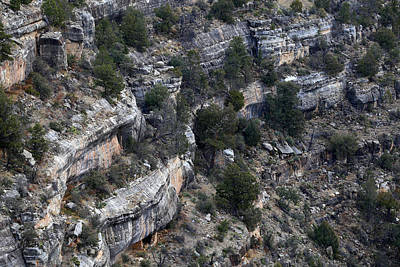 Photograph - Walnut Canyon Flagstaff by Mary Bedy