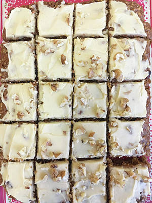 Buffet Photograph - Walnut Carrot Cake by Tom Gowanlock