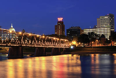 Photograph - Walnut Street Bridge by Shelley Neff