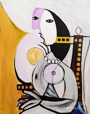 Walrobinson - Tribute To Picasso Art Print