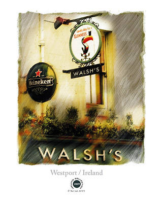 Westport Painting - Walsh's by Bob Salo