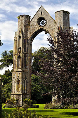 Photograph - Walsingham Abbey by Paul Cowan