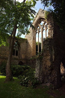 Photograph - Walsingham Abbey Ruins by Paul Cowan