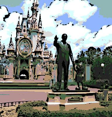 Photograph - Walt And Mickey by George Pedro