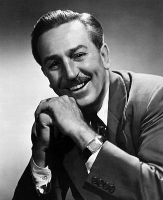 Disney Photograph - Walt Disney, 1955 by Everett
