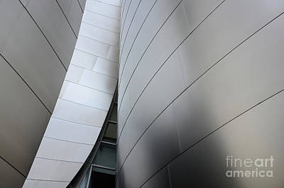 Design For Architects Photograph - Walt Disney Concert Hall 10 by Bob Christopher