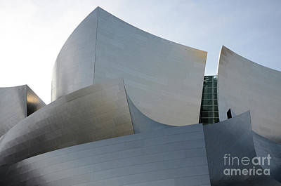 Photograph - Walt Disney Concert Hall 11 by Bob Christopher