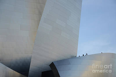 Design For Architects Photograph - Walt Disney Concert Hall 13 by Bob Christopher