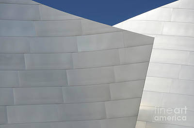 Design For Architects Photograph - Walt Disney Concert Hall 20 by Bob Christopher