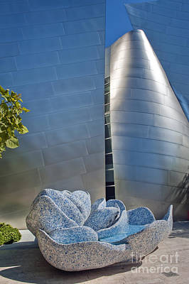 Photograph - Walt Disney Concert Hall 3 by David Zanzinger