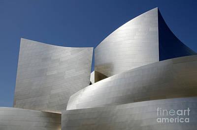 Photograph - Walt Disney Concert Hall 40 by Bob Christopher