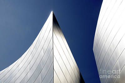Photograph - Walt Disney Concert Hall 41 by Bob Christopher