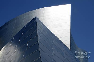 Photograph - Walt Disney Concert Hall 42 by Bob Christopher