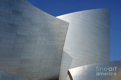 Photograph - Walt Disney Concert Hall 43 by Bob Christopher