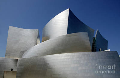 Photograph - Walt Disney Concert Hall 45 by Bob Christopher