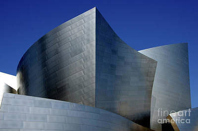 Photograph - Walt Disney Concert Hall 46 by Bob Christopher