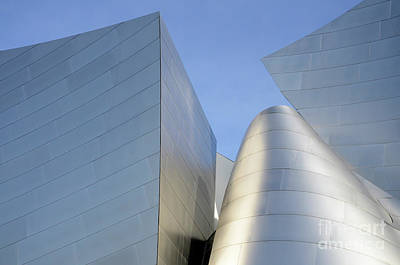 Design For Architects Photograph - Walt Disney Concert Hall 7 by Bob Christopher