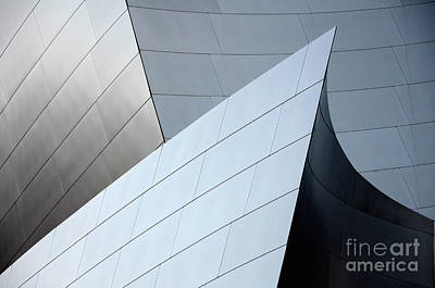 Photograph - Walt Disney Concert Hall 9 by Bob Christopher
