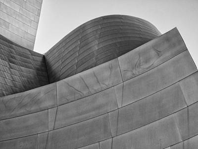 Photograph - Walt Disney Concert Hall Four by Gary Karlsen