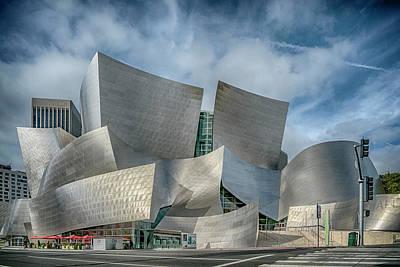 Photograph - Walt Disney Concert Hall La Ca 7r2_dsc3465_17-01-17 by Greg Kluempers