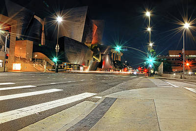 Photograph - Walt Disney Concert Hall - Los Angeles Art by Lourry Legarde