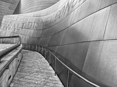 Photograph - Walt Disney Concert Hall One by Gary Karlsen