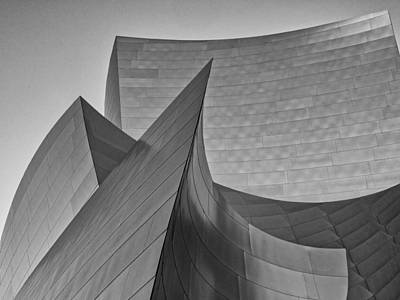 Photograph - Walt Disney Concert Hall Three by Gary Karlsen