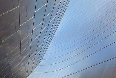 Photograph - Walt Disney Concert Hall Wall Abstract by Ram Vasudev