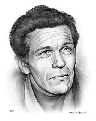 Drawing - Walter Burke by Greg Joens