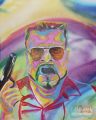Walter Art Print by Kevin King