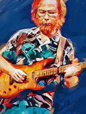 Uncle Walter Art Print by Scott Waters