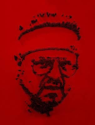 Walter Sobchak Nailed Red  Art Print by Rob Hans