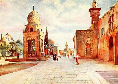 Photograph - Walter Spencer 1907 Al Aqsa by Munir Alawi