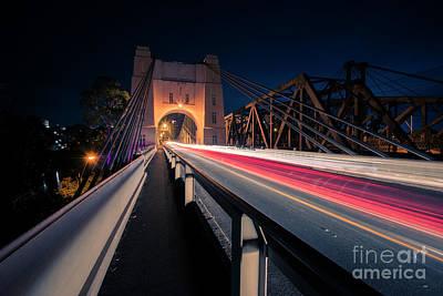Photograph - Walter Taylor Bridge In Brisbane. by Rob D