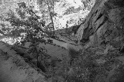 Photograph - Walters Wiggles Angels Landing  by John McGraw