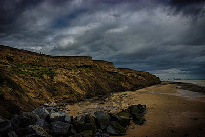 The North Sea Wall Art - Photograph - Walton Beach by Martin Newman