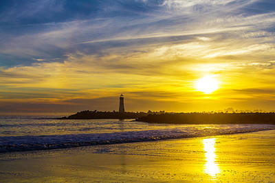 Photograph - Walton Lighthouse by Garry Gay