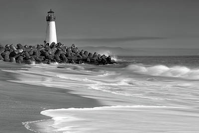 Photograph - Walton Lighthouse by Laura Macky