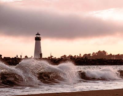 Photograph - Walton Lighthouse by Robert Brusca