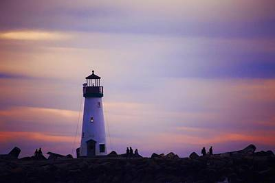 Photograph - Walton Lighthouse by Lora Lee Chapman