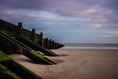Walton On The Naze Beach Art Print by Martin Newman
