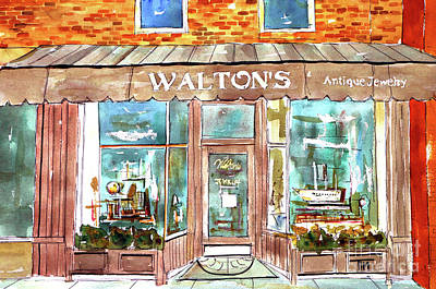Waltons Jewelry Art Print