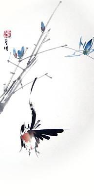 Waltzing At Dawn Art Print by Ming Yeung