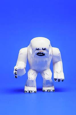 Abominable Snowman Photograph - Wampa by Samuel Whitton