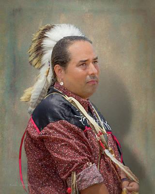 Digital Art - Wampanoag Powwow_0043 by Mikael Carstanjen