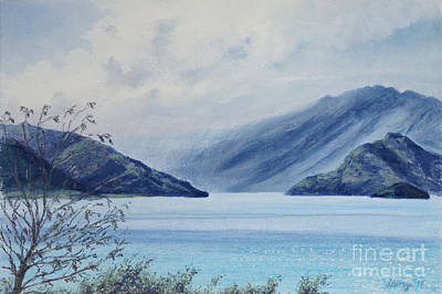 Wanaka Lake Art Print