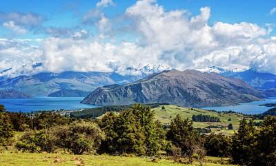 Wanaka New Zealand Art Print by Joan Carroll