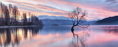 Photograph - Wanaka Sunset by Brad Grove