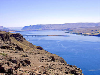 Photograph - Wanapum Lake by Robert Meyers-Lussier